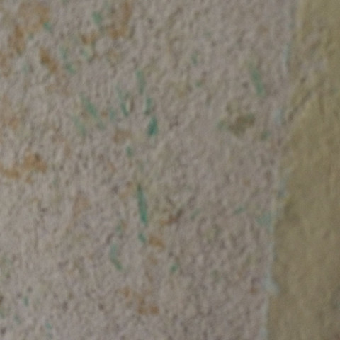 Tapetenreste kommen noch ab - (Wand, renovieren, Vliestapete)