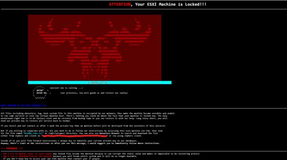 """""""VMware ESXI Machine has been locked"""" Wer/was steckt dahinter?"""
