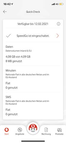 Vodafone SpeedGo abschalten?