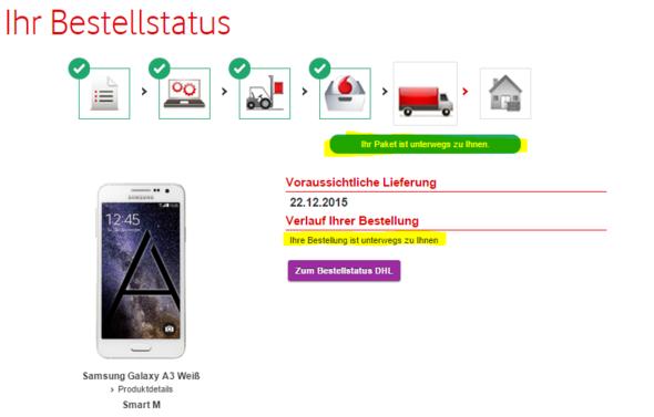 Vodafonevertrag Unterschrieben Was Nun Vertrag Vodafone