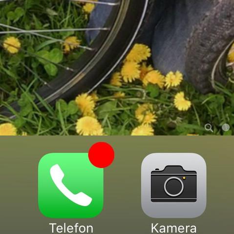 benachrichtigung von der voicemail die sich nicht wegmachen /löschen lässt - (voicemail, Iphone6plus, tagelang)