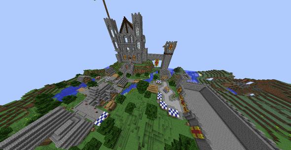 Das Gelände - (Minecraft, Fallen Kingdom)
