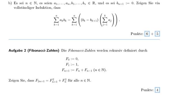 Hier sind die beiden Aufgaben - (Schule, Mathe, Mathematik)