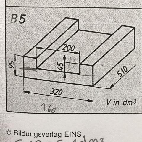 Volumen berechnen   Volumen berechnen l*b*h  - (Schule, Volumen berechnen, lbh)