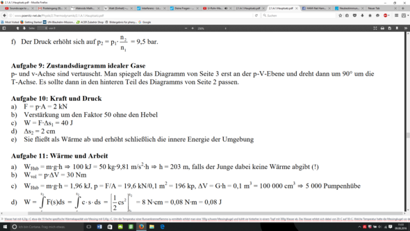 Lösung - (Mathematik, Physik)