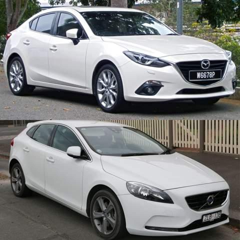 Volvo V40 oder Mazda 3?