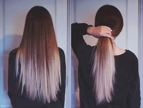 Von Blau Zu Braun Färben Haare