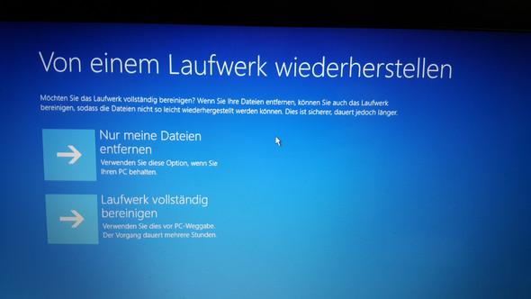 - (Windows, Wiederherstellung)