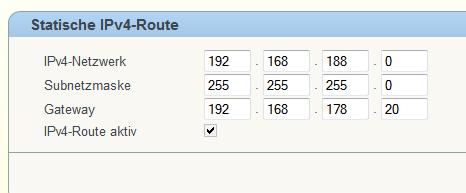 IPv4-Routing der 6360 - (Computer, Netzwerk, Router)
