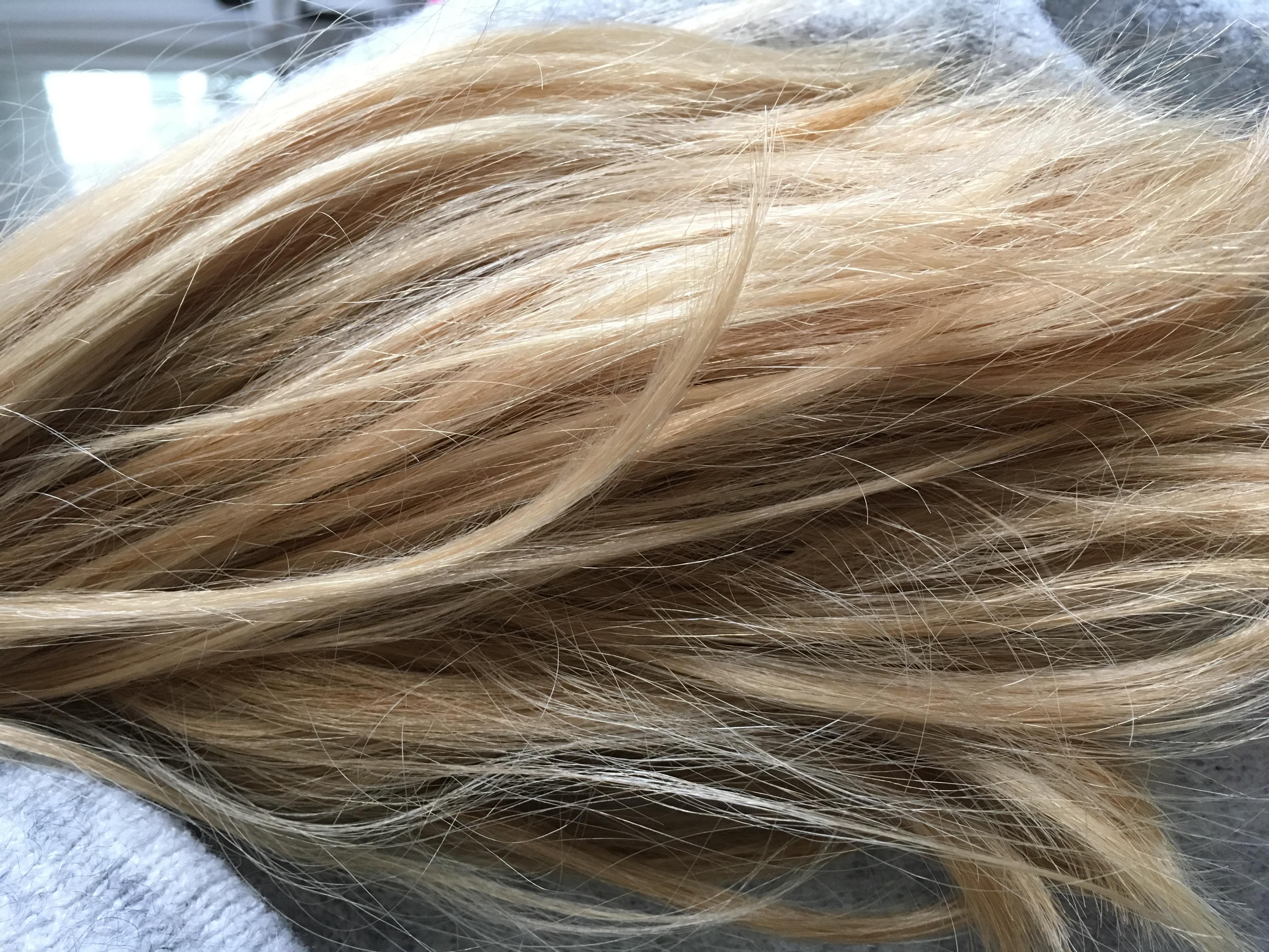 Farbverlauf Haare Braun Blond