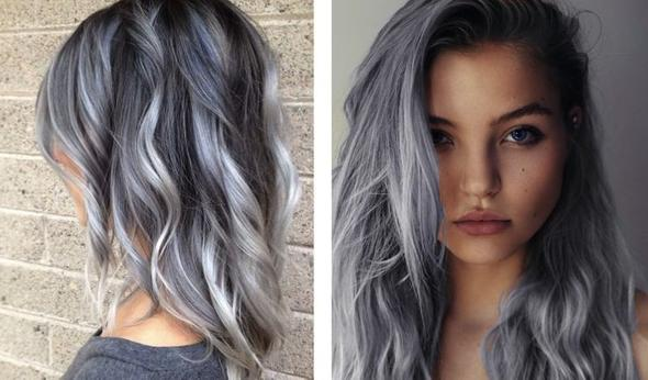 von pastell blau lila auf dunkel graue haare directions direktzieher bunte haarfarbe. Black Bedroom Furniture Sets. Home Design Ideas