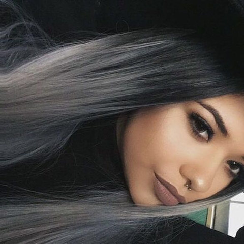 Graue haare farben naturfarben