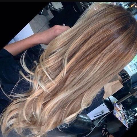 Blond schwarz färben