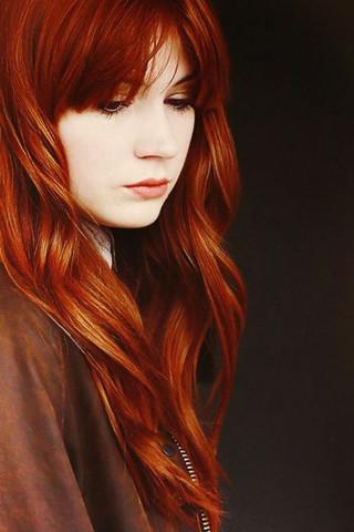 Von Sehr Dunklen Haaren Auf Kupferrot Haare Beauty Aussehen