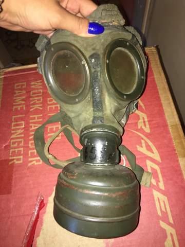 Von wann ist diese Gasmaske?