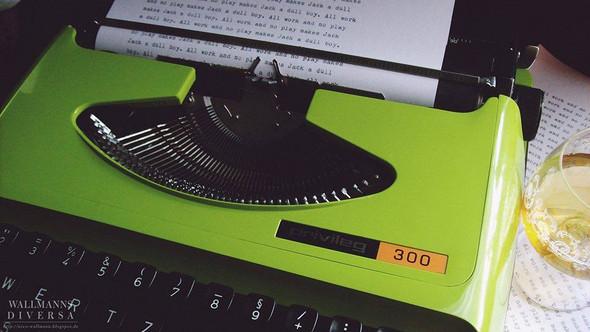 Von wann ist diese Schreibmaschine (Privileg 300)?