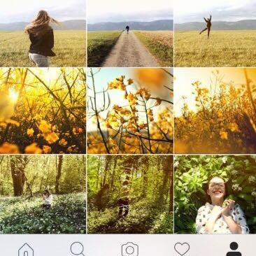 der untere Teil - (Farbe, Instagram, Fotografie)