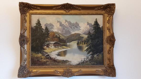 - (Kunst, Malerei, Gemälde)