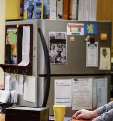 Von welcher Firma ist der Kühlschrank von the Big Bang Theory von Leonard und Sheldon?