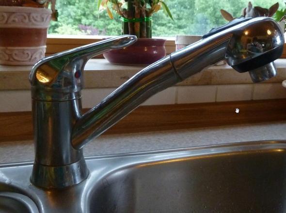 Vorne - (Küche, Wasserhahn)