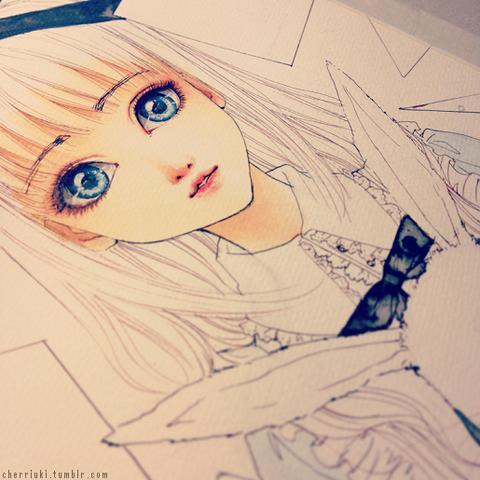 .. - (Kunst, zeichnen, Alice)