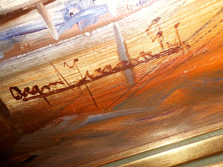 Von Wem Ist Dieses Hafen Gemälde? (Frankreich, Schiff