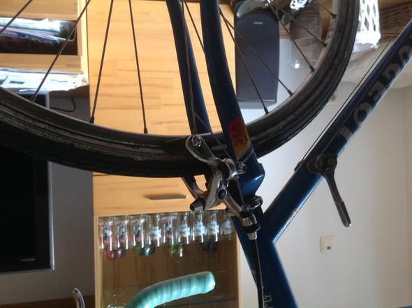 vorderrad bewegt sich nicht bremsschuh zu hoch fahrrad. Black Bedroom Furniture Sets. Home Design Ideas