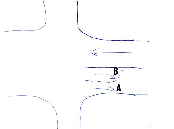 """Ich bin """"A"""", und der PKW """"B"""" - (Recht, Verkehr, Strassenverkehr)"""