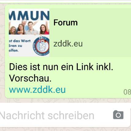 Linkvorschau Whatsapp - (Internet, WhatsApp, programmieren)