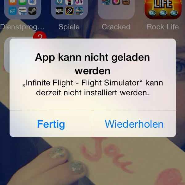 App Kann Nicht Installiert Werden