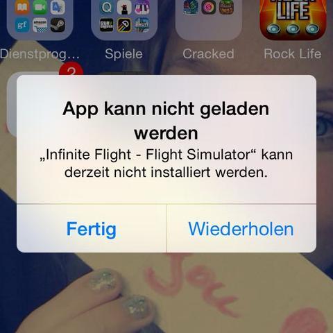Diese meldung meinte ich  - (iPhone, Apps, vshare)