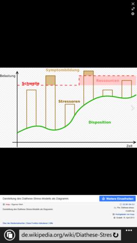 das ist das diathese stress modell - (Erklärung, Vulnerabilitätsmodell)