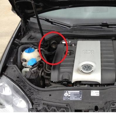 Motorraum ohne Saugrohr - (Auto, Motor, Fahrzeug)