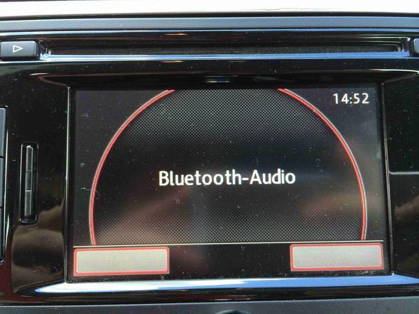 Und das zeigt das Bluetooth Audio vorgesehen ist - (Auto, iPhone, audio)