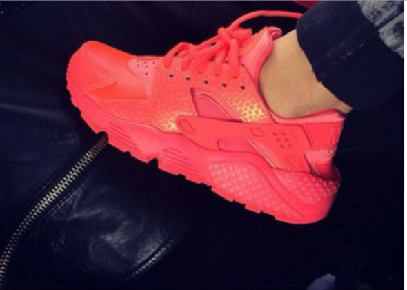 Nike Huarache Damen Rot