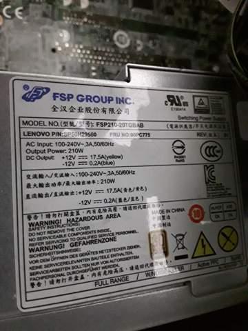 Wie viel Watt hat das netzteil?