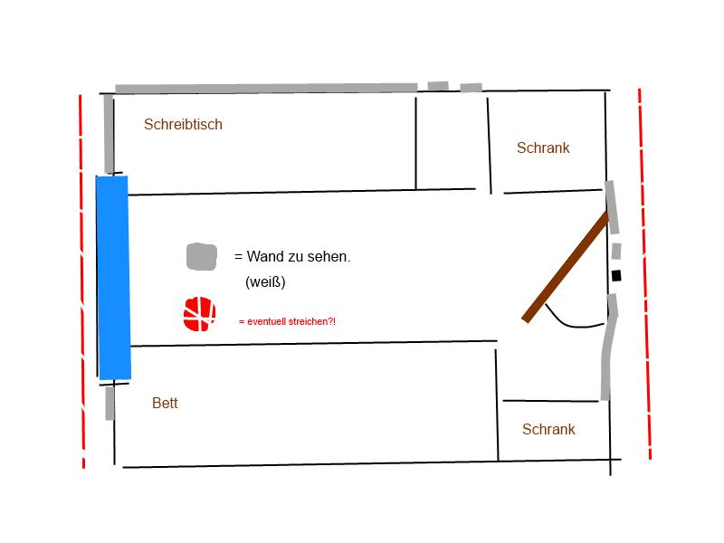 w nde rot streichen erfahrungen oder gr n wand einrichtung deko. Black Bedroom Furniture Sets. Home Design Ideas