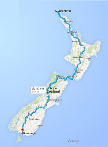Neuseeland - (Sport, Reise, Fahrrad)