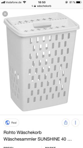 Wäschekorb wie entsorgen?