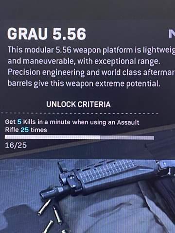 Waffe durch einen Bauplan freischalten?