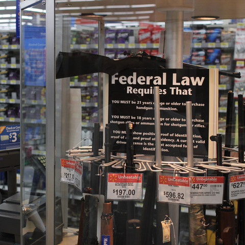 Waffen im Walmart - (USA, Amerika, Waffen)