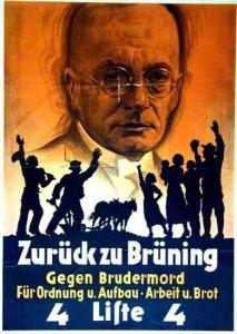 Wahlplakat Zentrum 1932 - (Schule, Geschichte, Analyse)