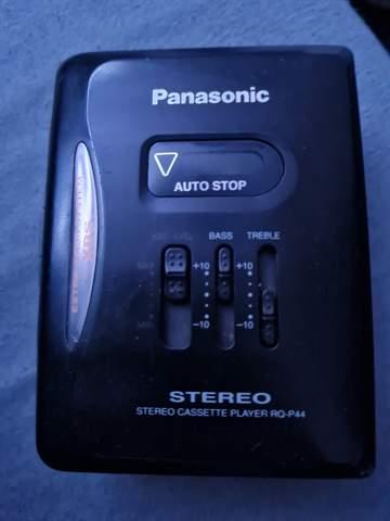 Walkman Parasonic Stereo Cassette Player RQ-P44 auf einmal kaputt?