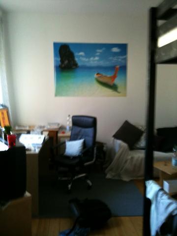 wand farbe f r schlaf und arbeitszimmer ideen raumgestaltung. Black Bedroom Furniture Sets. Home Design Ideas
