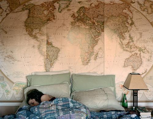 wand welt karte tapete landkarte weltkarte. Black Bedroom Furniture Sets. Home Design Ideas