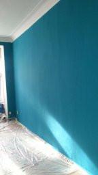 wandfarbe lagune anmischen maler. Black Bedroom Furniture Sets. Home Design Ideas