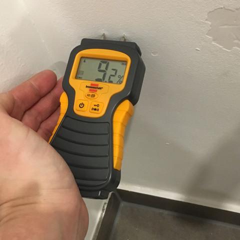 Messung 1   (Haus, Baumängel, Feuchte Wand)