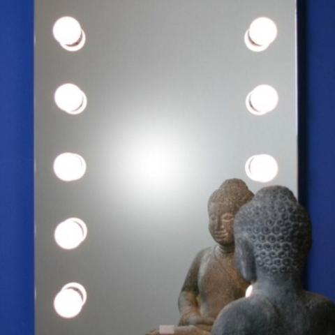 Spiegel mit beleuchtung für schminktisch  Wandspiegel mit Beleuchtung gesucht (Wand, Spiegel, Schminktisch)