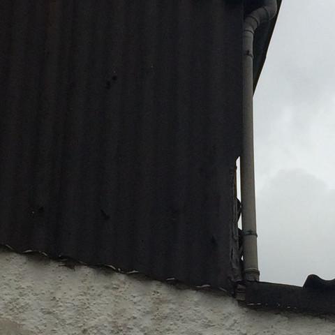 Top Wandverkleidung Was ist das für ein Material? (Asbest, Dachdecker) &ZU_75