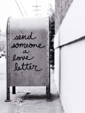 - (Liebe, Liebesbrief)